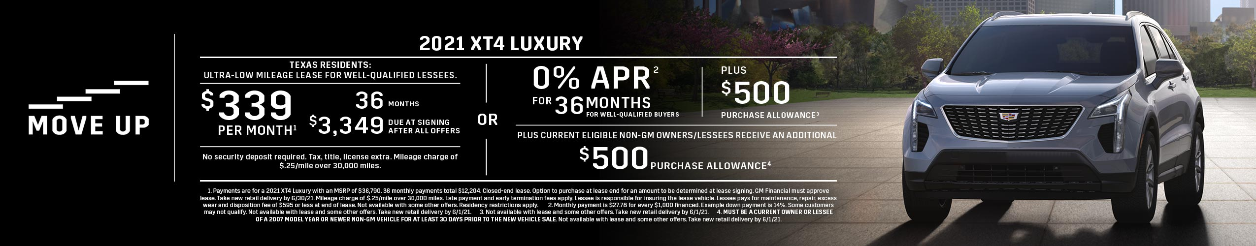 2021 XT4 Luxury: Lease or APR Offer (Image) - 64f7f7