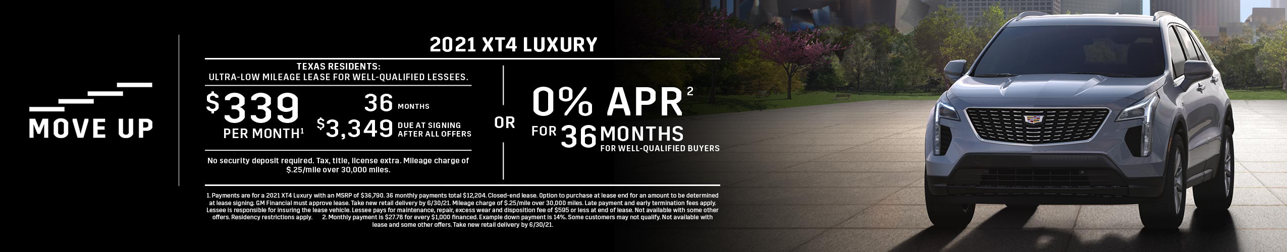 2021 XT4 Luxury: Lease or APR Offer (Image) - 6ae259
